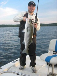 Scott Landers striped bass